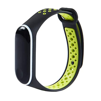 S-World 4Home Mi Band 3 Correa Deporte Silicona Reloj ...