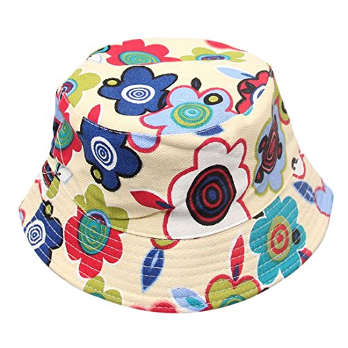 Sun Beach Beanie AutumnFall(TM) Hot! Cute Kids Girl Baby Summer Outdoor Bucket Hats Cap New (J)