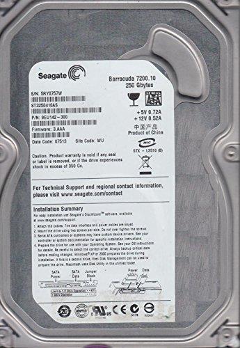 SEAGATE ST3250410AS 9EU142-305 BARRACUDA 7200.10 250GB HARD DRIVE D434937