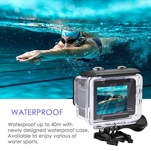 Top 10 Best Wearable HD Action Cameras Reviews 2019-2020 cover image