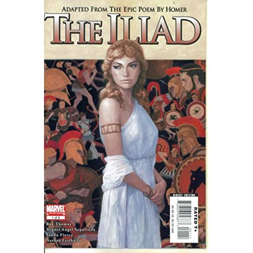 Marvel Illustrated - Homers The Iliad #1 (Marvel Comics)