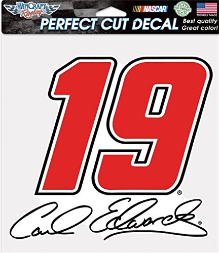 Carl Edwards NASCAR 8 x 8 Perfect Cut Full Color Decal