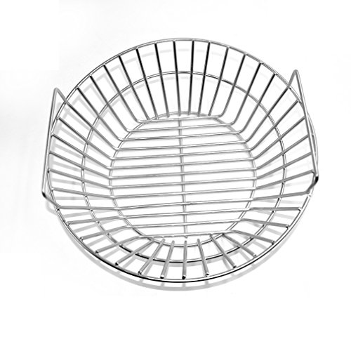 Onlyfire Stainless Steel Charcoal Ash Basket Fits for Large BGE, Kamado Joe - Coal Basket