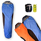 Outdoor Vitals OV-Light 35 Degree 3 Season Mummy Sleeping Bag, Lightweight, Backpacking, Ultra Compactable, Hiking, Camping, Lifetime Limited Warranty