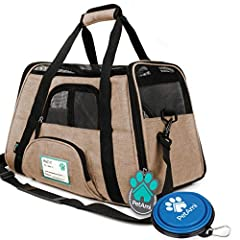 Premium Soft-Sided Pet Travel Carrier by PetAmi              Our Airline Approved Premium Soft-Sided Pet Travel Carrier is the perfect travel bag for you and your cat, dog, and pet. It comes with the following features that wi...