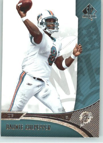 20322e4d Daunte Culpepper - Miami Dolphins - 2006 SP Authentic Card # 46 ...