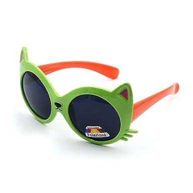 XINMADE Wanderer verschiedene Kinder Sonnenbrille UV400 für Jungen und Mädchen Alter 3-10 (rosa) 3vAM5Ri