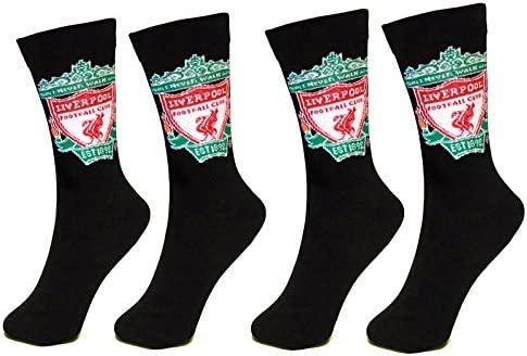 1 Pack - Size 6-11 - GIFT Mens Socks Liverpool F.C