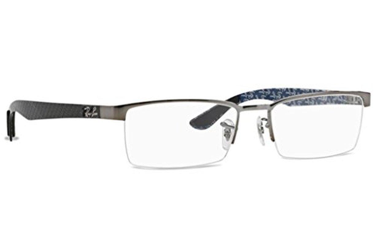 Ray-Ban Men's RX8412 Eyeglasses Gunmetal 54mm by Ray-Ban