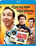 41 Year Old Virgin Who Knocked Up Sarah Marshall and Felt Superbad About It, The Blu-ray