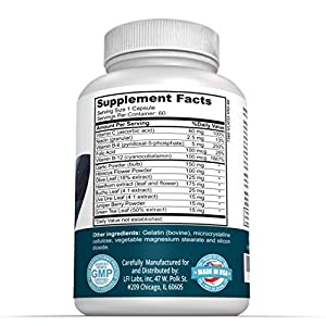 Balance Heart Blood Pressure Supplement — Your Natural Solution to Lowering Your Blood Pressure; Cardiologist Recommended — Maximum Strength; Non-GMO Formula!