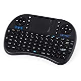 Wireless Mini Keyboard with Touchpad, ESYNIC Wireless Handheld Keyboard Mini Touchpad Keyboard with Mouse Combo for PC Google Android Smart TV Box Media Mini TV Xbox 360 HTPC IPTV Raspberry PI 3 PS3