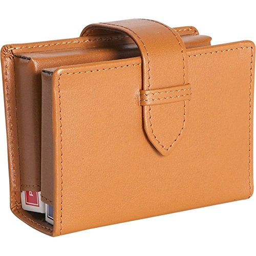 (Royce Leather Leather Deck of Cards Case (Tan))