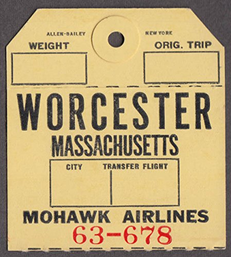 Mohawk Airlines airline baggage check Worcester MA - Airlines Mohawk