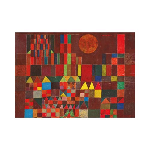 Piatnik Castle and Sun 1000 Piece Paul Klee Jigsaw Puzzle