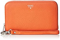 Fossil Sydney Zip Phone Wallet, Monarch, One Size