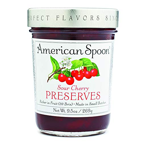 (American Spoon Foods Sour Cherry Preserves Pack of 4)