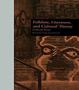 folklore literature and cultural theory collected essays The author of this book has lived in jerusalem for forty-eight years, during which time he has taught graduate students its history and archaeology, and also compiled a bestselling archaeological guidebook for visitors.