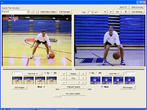 Basketball Dribbling and Passing inMotion is the fourth volume in the four part Basketball inMotion multimedia software training series. This unique volume focuses on the fundamentals involved in teaching and mastering the dribbling and passing. Dribbling and Passing inMotion includes video clips from Women's Basketball Hall of Fame coach, Theresa Grentz's, Ballhandling, Dribbling, And Passing DVD. Dribbling and Passing inMotion is designed to help athletes master the proper dribbling and passing techniques by comparing their skills, side-by-side and in frame-by-frame sequence, against an acknowledged reference point.