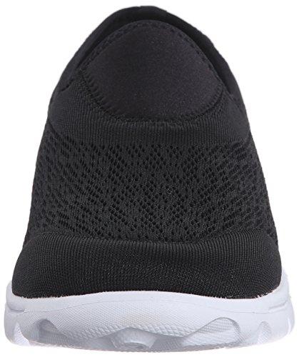 Propet Womens Travelactiv Slip-on Mote Sneaker Svart