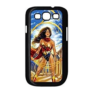 Customize Cartoon Wonder Woman Back Cover Case for Samsung Galaxy S3 i9300