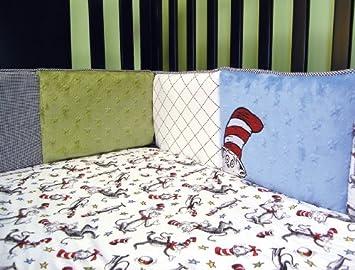Dr. Seuss Cuna Bumpers, gato en el sombrero