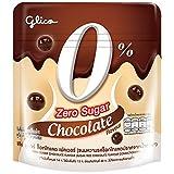Glico Chocalate Sugar Zero Chocolate Flavour Sugar Free Chocolate Flavour Confectionery 37g. ( Pack of 3 )