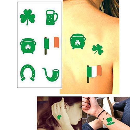 Tatuajes de trébol para fiestas infantiles - Tatuajes de fiesta ...