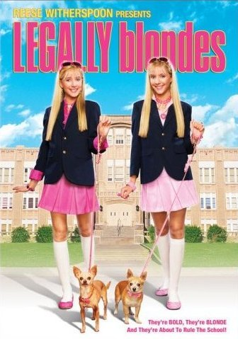 DVD : Legally Blondes