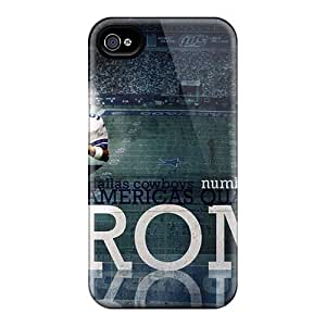 Premium Iphone 4/4s Case - Protective Skin - High Quality For Dallas Cowboys