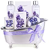 Spa Gifts for Women,Body & Earth Lavender Scented