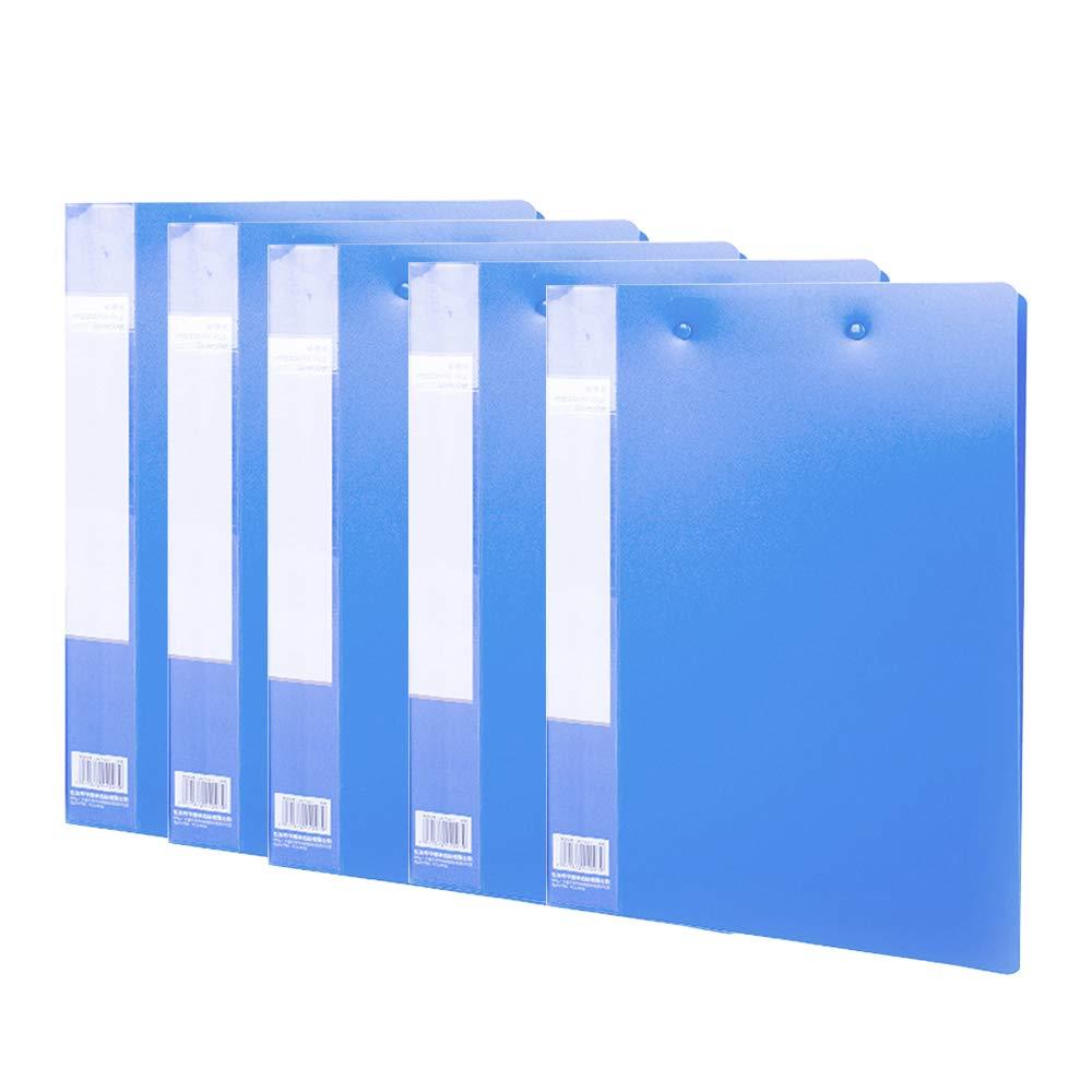 Office Supplies Folder, starker PP-Kunststoffclip innerhalb der Seitenkapazität großer verschleißfester Geschäftsordner, Format A4