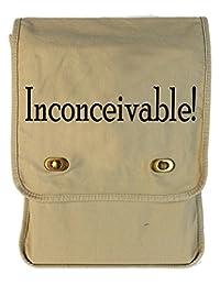 Tenacitee Inconceivable! Putty Canvas Field Bag