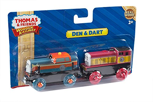 Fisher-Price Thomas & Friends Wooden Railway Den and Dart Train