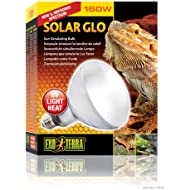 Exo Terra Solar-Glo High Intensity Self-Ballasted Uv/Heat Mercury Vapor Lamp, 160-Watt