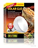 Exo Terra Solar-Glo High Intensity Self-Ballasted UvHeat Mercury Vapor Lamp 160-Watt