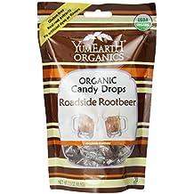 Yummy Earth Organic Candy Drops Roadside Root Beer -- 3.3 oz by YummyEarth