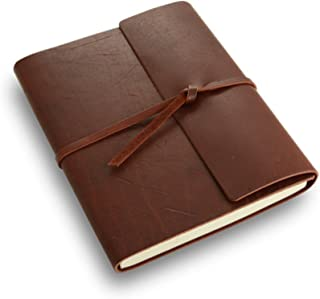 product image for Rustico Rustic Leather Writer's Book - A Leather Journal with Lined Pages - Burgundy