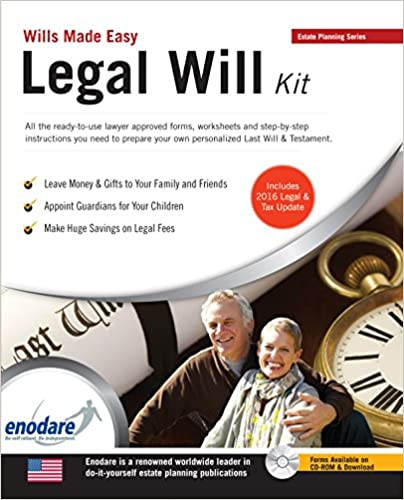Legal will kit wills made easy enodare 9781906144975 amazon legal will kit wills made easy 3rd edition solutioingenieria Gallery