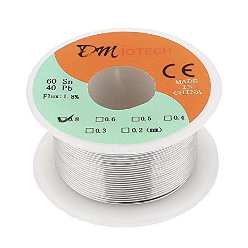 0.8mm 60/40 Tin lead Rosin Core Solder Wire Reel - 9