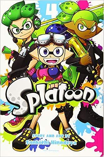 4 Vol Splatoon