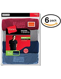 Hanes Men's FreshIQ Crew T-Shirt (Pack of 6) (X-Large,...