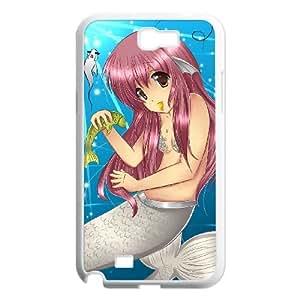 Anime Mermaid Samsung Galaxy N2 7100 Cell Phone Case White SUJ8485565