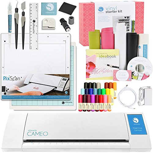 Silhouette America Cameo 2 Touch Screen Starter Bundle kit by Silhouette America