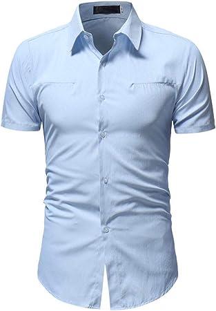 CHENS Camisa/Casual/Unisex/XL Camisa de Verano para Hombre ...