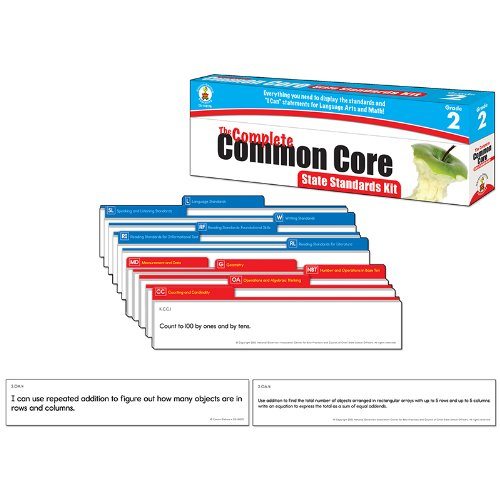 The Complete Common Core State Standards Kit, Grade 2 -