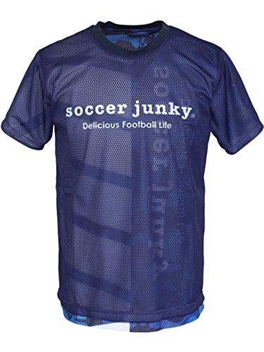 好きであるバトル特別にsoccer junky(サッカージャンキー) プラシャツ 表裏一体 SJ18020