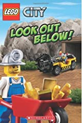 LEGO City: Look Out Below! by Scholastic Michael Anthony Steele(2012-07-01) Paperback Bunko