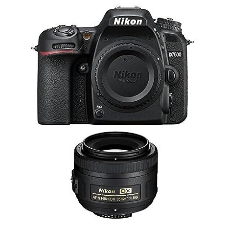 Nikon D7500 + AF-S DX NIKKOR 35mm Juego de cámara SLR 20,9 MP CMOS ...