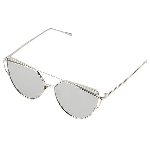 Shades telaio RetroUV® nuovo gatto degli occhi Occhiali da sole Aviator donne retrò in metallo Moda